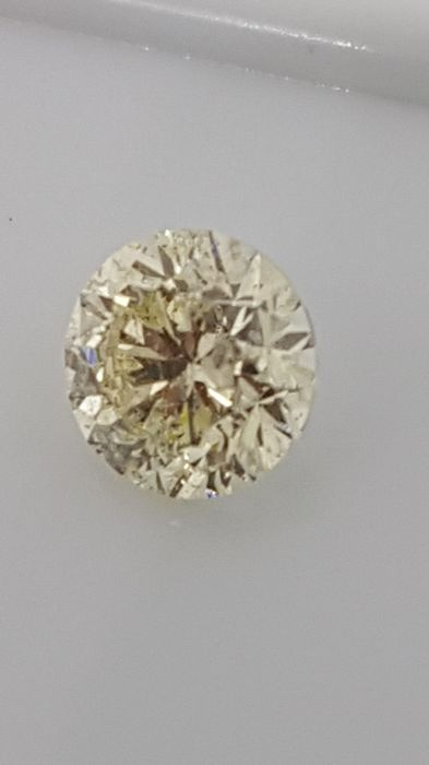 1.17 ct - Round Brilliant - Yellow - SI2