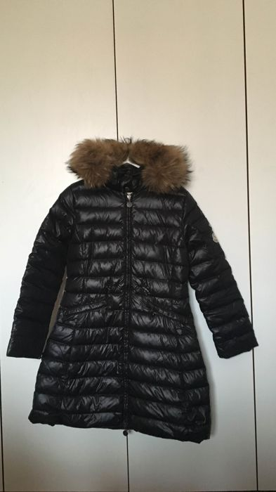 official photos a7e51 a8d63 piumino moncler con pelliccia in murmasky - Catawiki