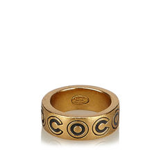 Chanel - Gold-tone Ring
