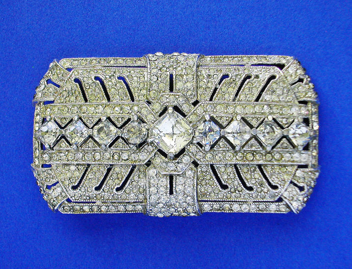 "Rare and Large 'Extraordinary' French ""Art-Deco"" Brooch"