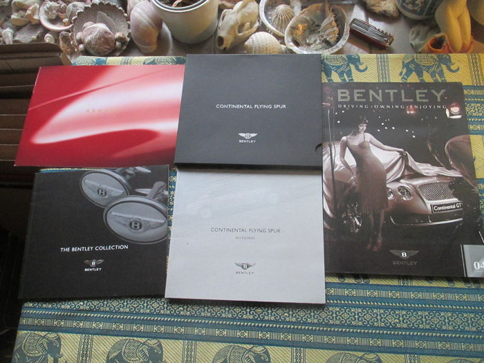 Car brochures (Bentley, 5x, 1999-2006)