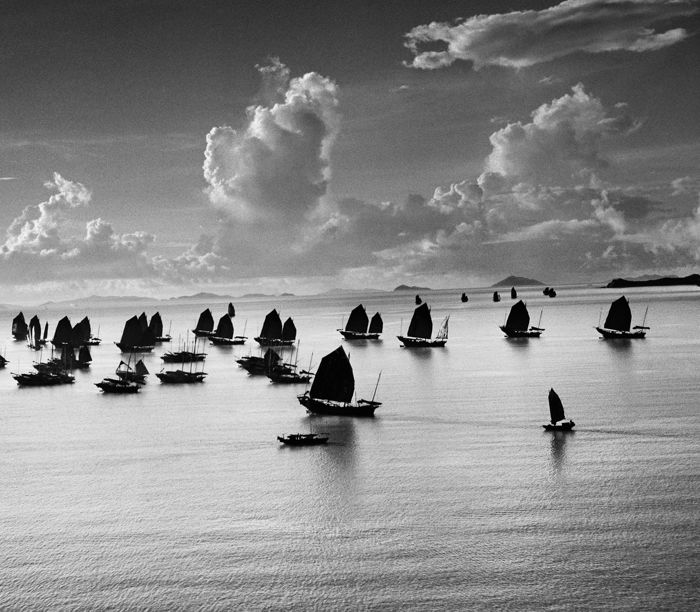 Werner Bischof - Harbour Grand Kowloon, 1952