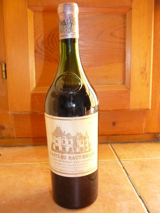 1960 Chateau Haut Brion, Pessac-Leognan 1er Grand Cru Classé - 1 bottle