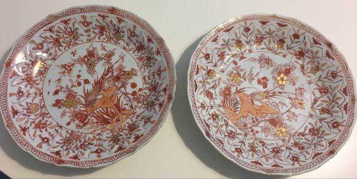 Pair of plates, China, Kangxi, 1662-1722