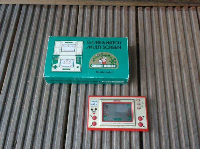 Nintendo Game & Watch - Mickey mouse + Green house