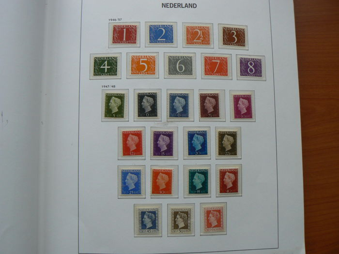 The Netherlands 1941/1977 - Collection of stamps in a DAVO LX album with slipcase