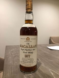 The Macallan 1977 18 years old