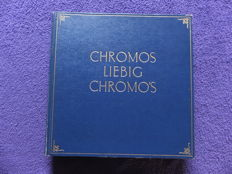 Album Chromos Liebig - 50 old series of 6 cards - Liebig edition in very good condition - from 1924