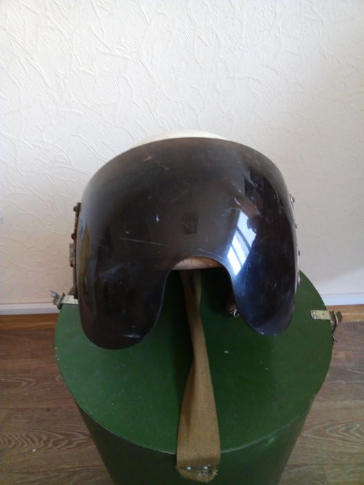 Original Russian( СССР/USSR ) Protective helmet. Aircraft of the Air Force. 3Sh - 3M supersonic fighters MiG-29.