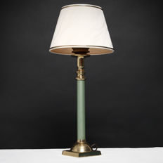 Brass Hollywood Regency style Table lamp, ca. 1970's