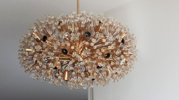Emil steijnar rupert nikoll large gold plated chandelier lamp emil steijnar rupert nikoll large gold plated chandelier lamp snowball sputnik aloadofball Image collections