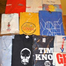 Lot of 11 exclusive Artist & Festival shirts in great condition