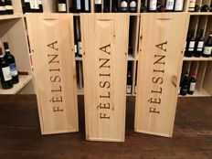 "2013 Felsina Chianti Classico Riserva ""Rancia"" Magnum - 3 bottles (1,5l) in single Wood Box (1.5L)"