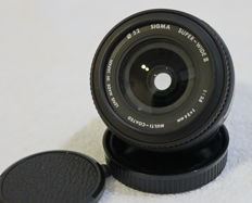 SIGMA SUPER-WIDE II 24 MM 1:2.8 MACRO OBJECTIVE FOR CANON