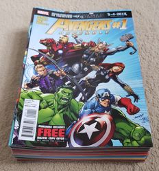 Marvel Comics - Avengers Assemble - Issues #1-25 + Annual #1 - Complete Set - x26 SC - (2012/2014)