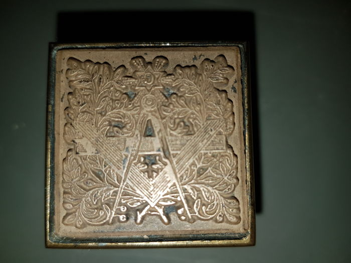 Masonic stamp seal