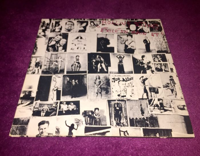 The Rolling Stones ‎– Exile On Main St. Original 1972 French Pressing With Postcards!
