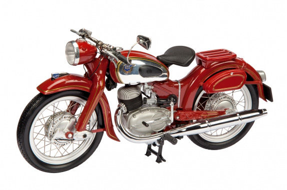 Schuco - Scale 1/10 - NSU Superlux  - Red