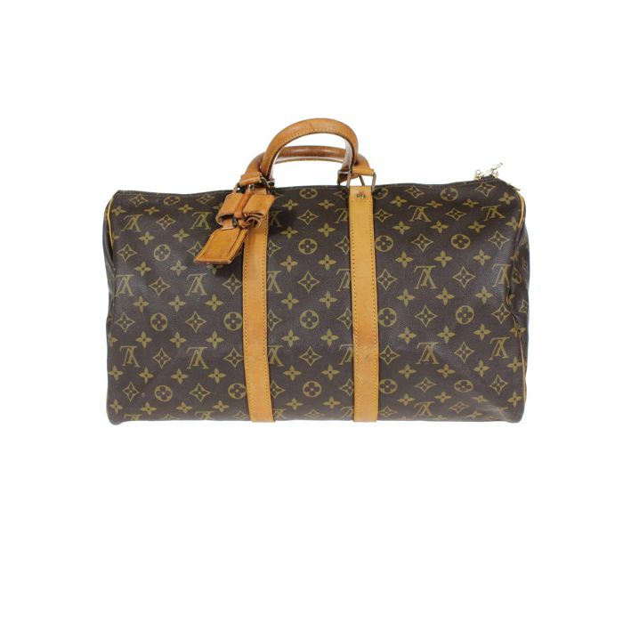 9d5a813a84f Louis Vuitton - Keepall 45 Weekend bag - Vintage - Catawiki