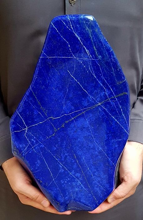 Large Lapis Lazuli Tumble from Afghanistan - .24x8x3cm - 12.2kg