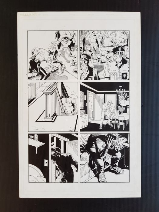 Rags Morales - Original Art Page - Geomancer #1 - Page 11 - (1994)