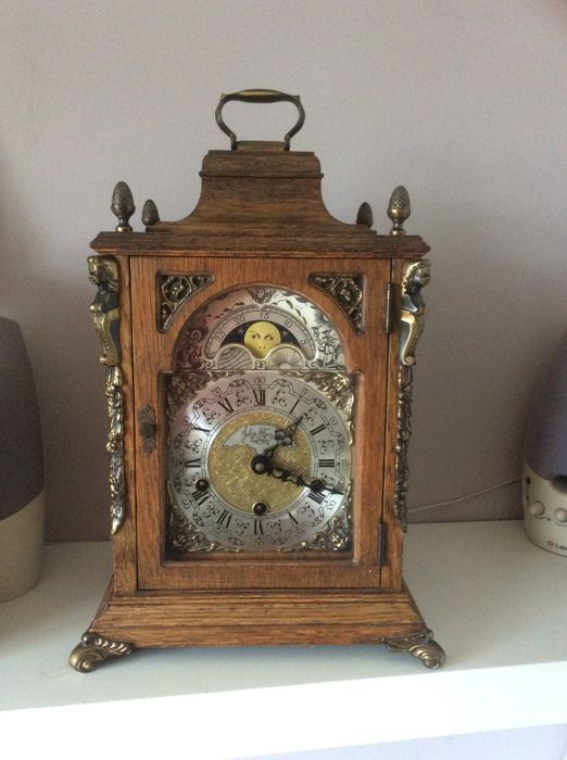 Westminster table clock - John Thomas London Warmink/Wuba period 1980