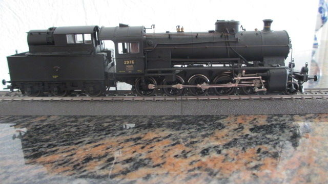 Roco H0 -  43201 - Steam locomotive with tender - C5/6 nr 2676 - SBB