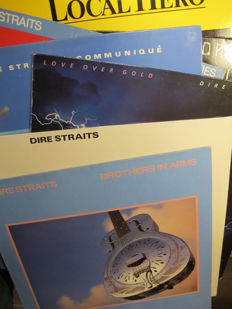 Nice Lot with 7 great LP Albums of Dire Straits &  Mark Knopfler(1 Double)