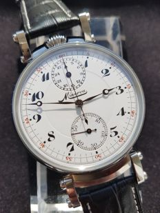 Minerva - Chronograph - Marriage watch -cal. 19-9CH - 1930 - Swiss Made - Heren - 1901-1949