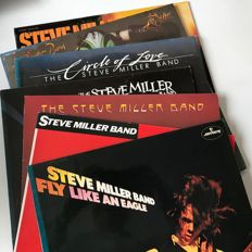Steve Miller Band - lot of 7 classic LPs including The Joker and Fly Like An Eagle