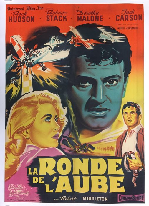 Belinsky - La Ronde de l'Aube / The tarnished angels (Rock Hudson, Robert Stack) - 1957