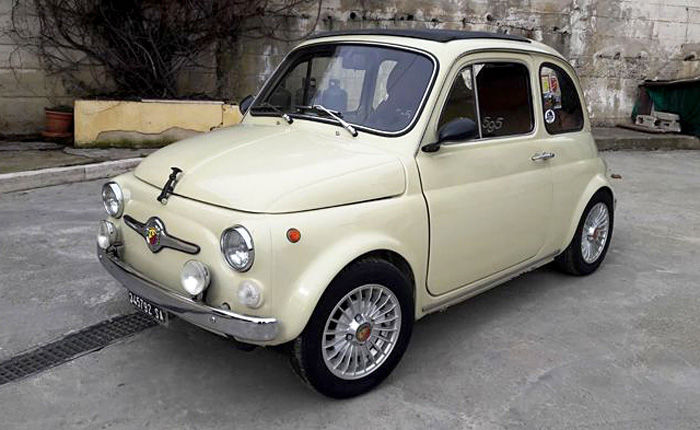 Fiat - 500 Custom Abarth - 1970