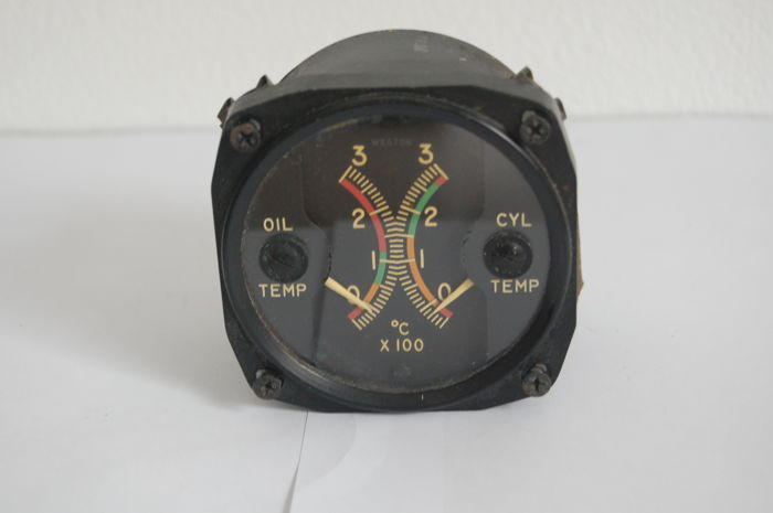 4 x cockpit instrument / Weston electrical instrument corp