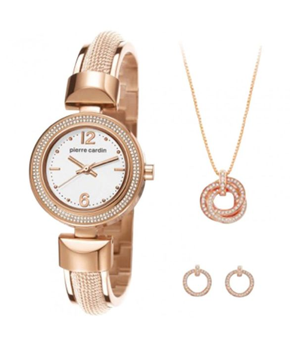 Pierre Cardin - lady's gift-set,watch and jewelry - Mujer - 2011 - actualidad