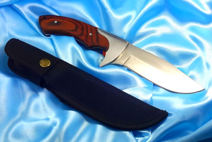 Beautifull Bowie Knife - Hunting with cover