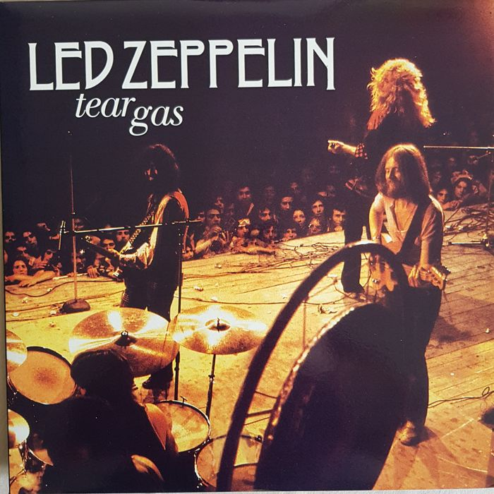 "Led Zeppelin  A Lot 2 LPs  ""Tear Gas""  LP   &  I Told You Baby Long Time Ago  Clear splatter vinyl"