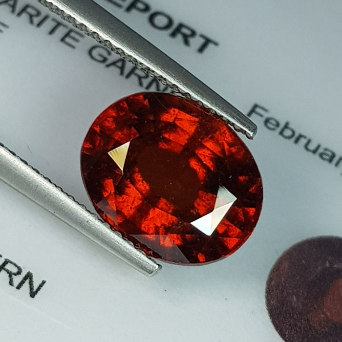 Hessonite Garnet - 5.81 ct
