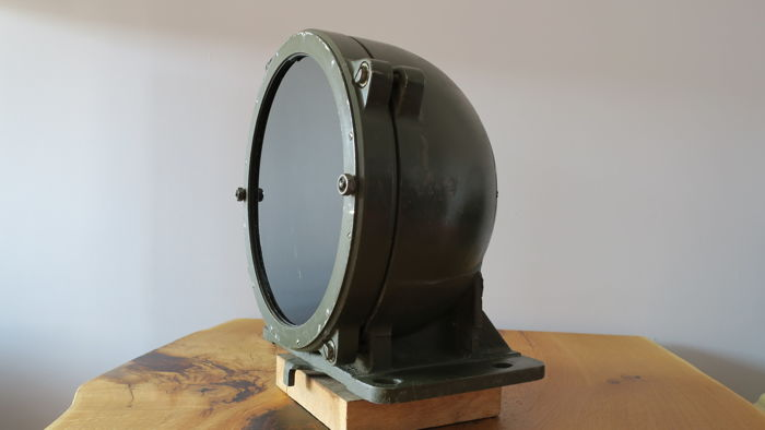 Original searchlight of Tank T-55 - Industrial Lamp