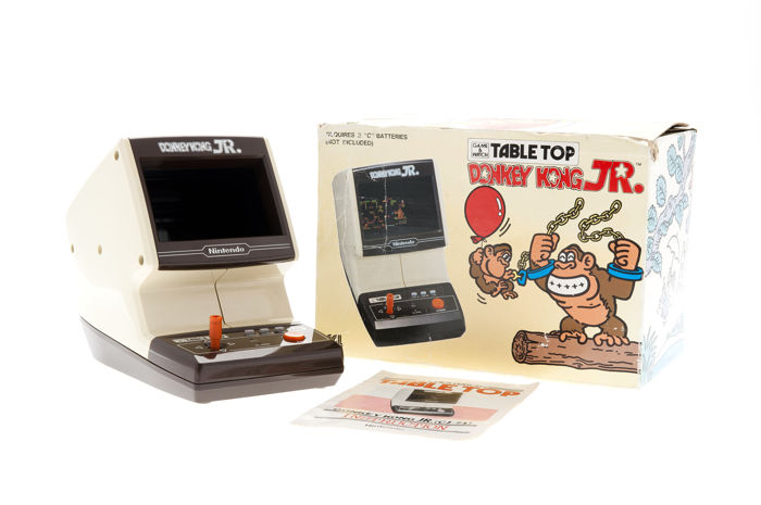 Donkey Kong Jr. Tabletop Game and Watch