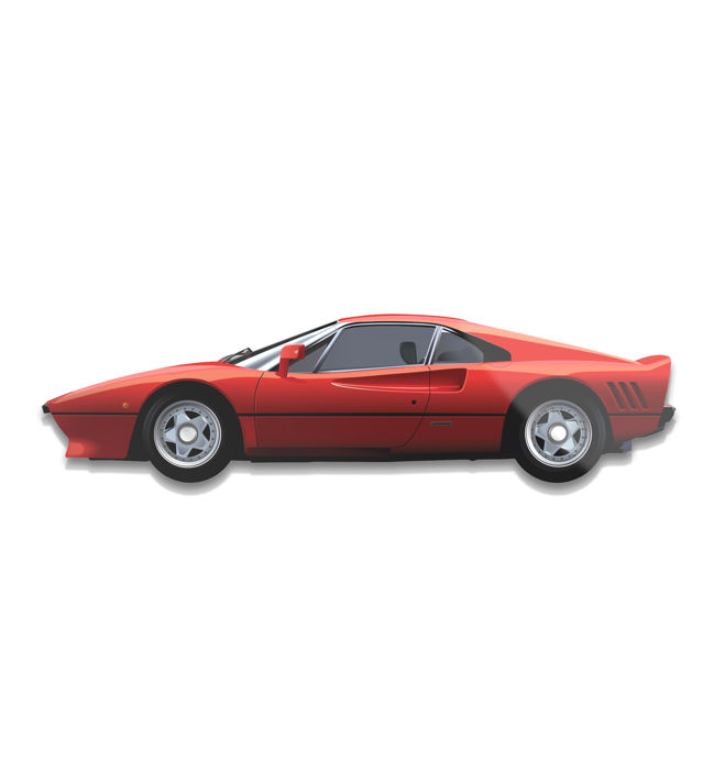 SL - Wall Scale Model Halmo Collection Ferrari 288 GTO