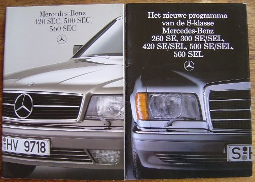 Mercedes benz 7 brochures nl text and 2 books catawiki for Mercedes benz books