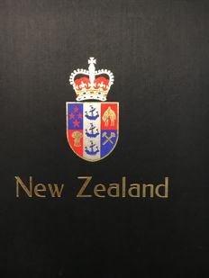 New Zealand - Collection in 1 Davo Album