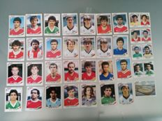 Panini - World Cup Mexico 1986 - 33 stickers