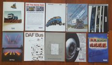 Lot of 28 DAF brochures