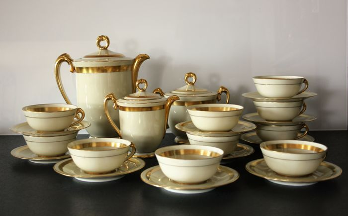 Marcel Chabrol – Art Deco tea or coffee set, grand prize at the 1925 Paris Decorative Arts International Exhibition
