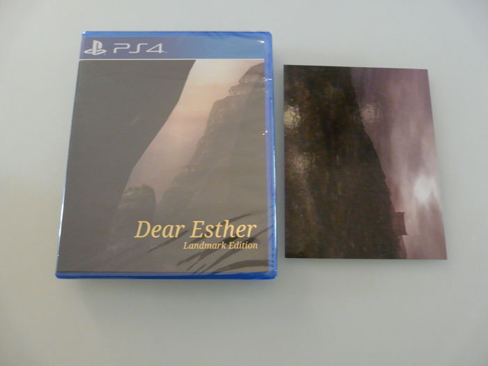 PS4 limited run game :  Dear Esther Landmark Edition