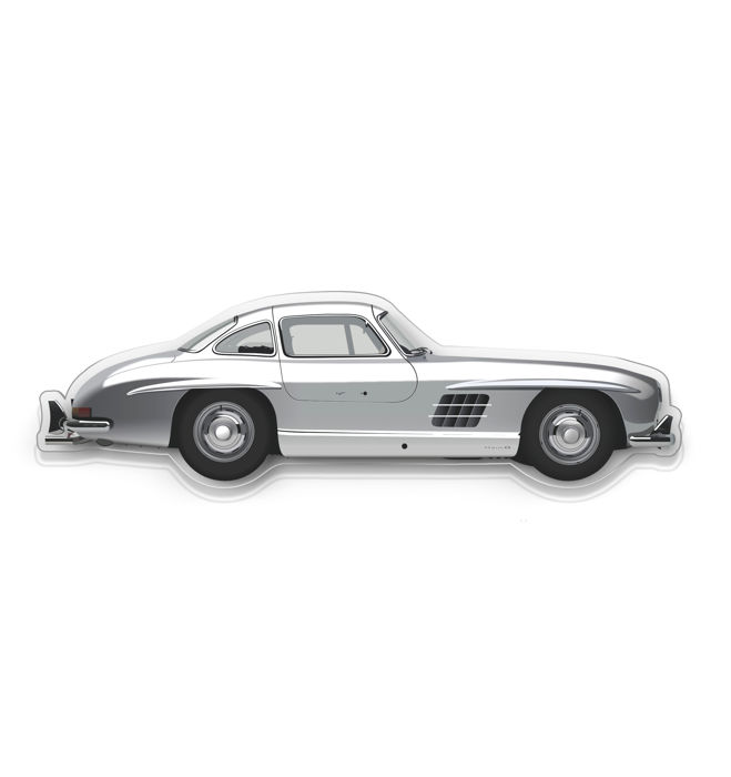 SXL - Halmo Collection Mercedes 300 SL plexiglass model