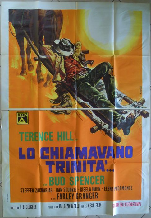 """Lo chiamavano Trinità"" (They Call Me Trinity; Terence Hill, Bud Spencer) - 1970"