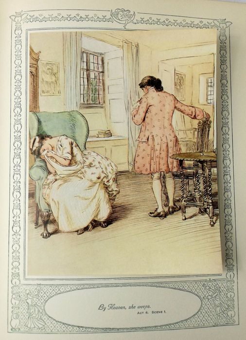 Oliver Goldsmith She Stoops To Conquer Illustrated By Hugh