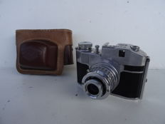Camera Comet S  Bencini CMF from 1948 made of aluminium – made in Italy – format 3x4 cm (film 127)
